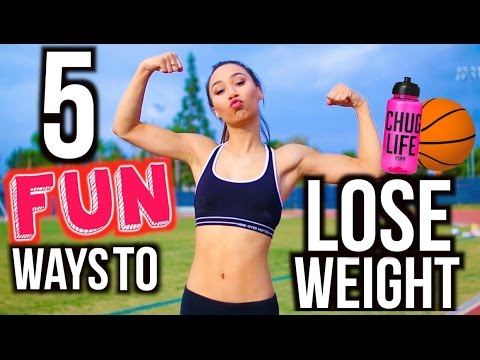 5 Ways To Lose Weight FAST! Fun Workout Routines | MyLifeAsEva