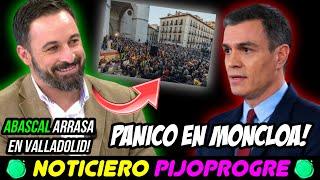 ABASCAL TRIUNFA EN VALLADOLID y VOX ASUSTA a PSOE y PP, QUE PACTAN el CONSTITUCIONAL! INCREÍBLE! 😱
