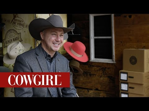 Hatmaker Trent Johnson And His Love For His Craft | COWGIRL