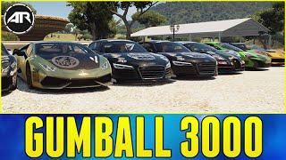 Forza Horizon 2 : 2016 GUMBALL 3000!!!