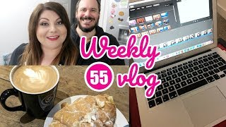 Weekly vlog 55 Broken laptop and lots of chats Victoria in Detail