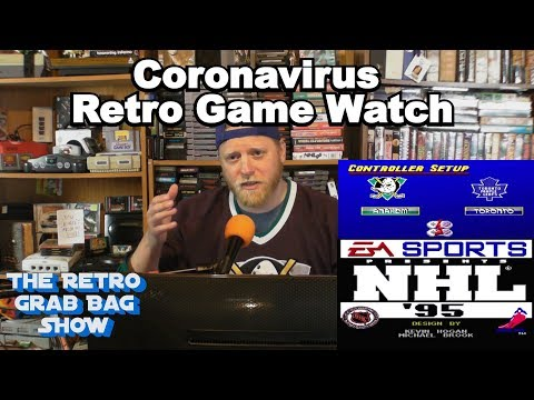 Ducks vs Maple Leafs - Coronavirus Retro Game Watch