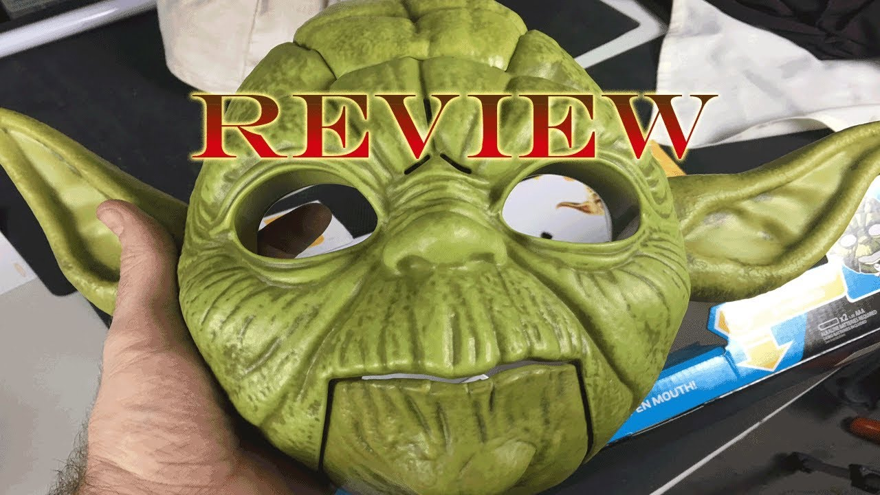 Yoda Electronic Mask Review