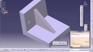 Catia V5 Tutorials|Part Design|Stiffener