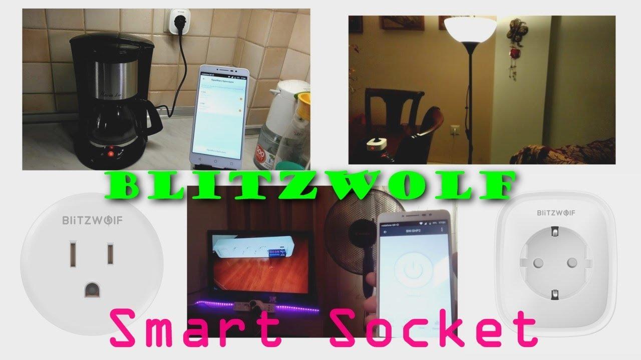 The Best Smart Plug Under $15 Blitzwolf BW-SHP2 Unboxing/Setup/Hands-On