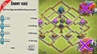 Town Hall 12 Trophy Base / Farming Base / Legend League Base   June Update 2018 - Clash of Clans