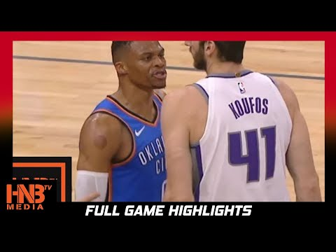Oklahoma City Thunder vs Sacramento Kings 1st Qtr Highlights / Week 4 / 2017 NBA Season