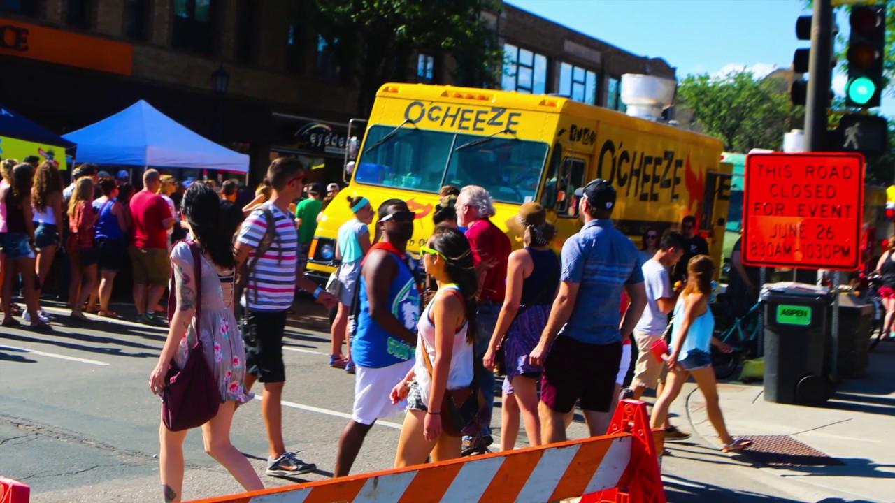 Uptown food truck festival 2016