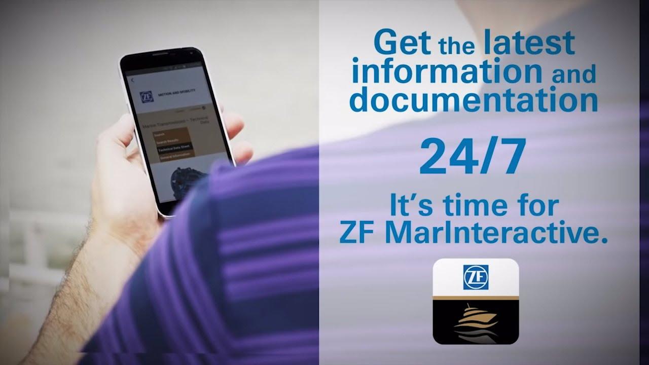 ZF Marine at your fingertips (en)