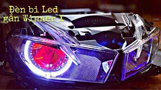 đèn bi led xlight v10s lắp WINNER X
