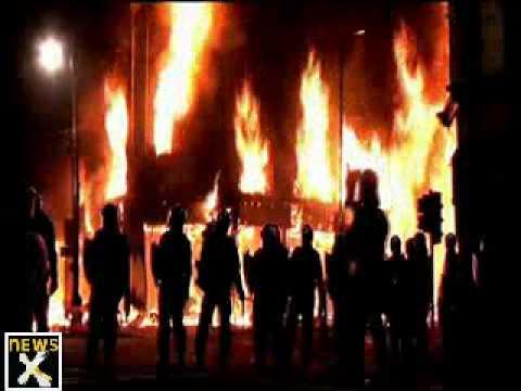 Riots in London over Mark Duggan's death