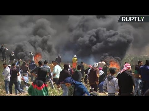 March of Return: Palestinians protest in Gaza