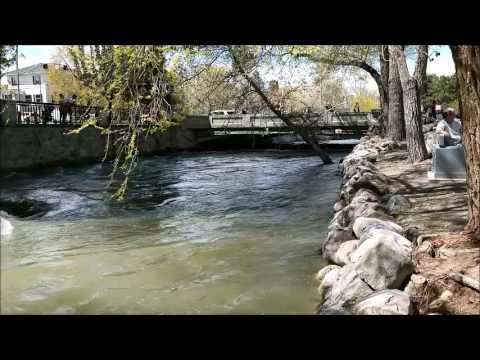 Reno Riverwalk and Truckee River 4 22 2017