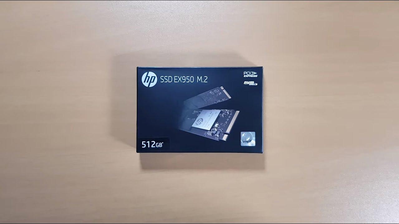 Unbox y Detalles Técnicos HP EX950 M 2 2280 PCIe NVMe SSD 512GB