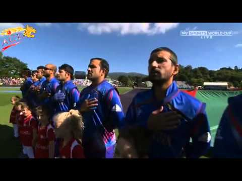 Afghanistan National Antam during Cricket match hd