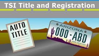 Registration mvd arizona