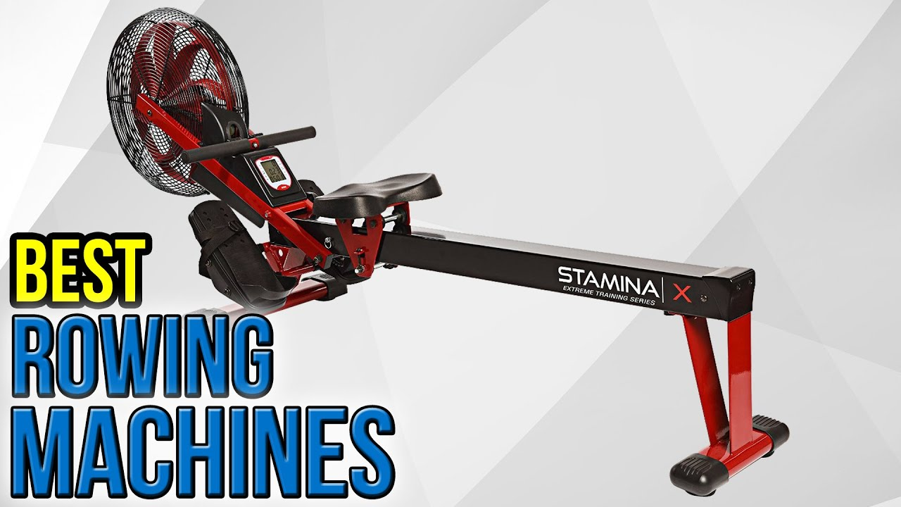 10 Best Rowing Machines 2016 - YouTube