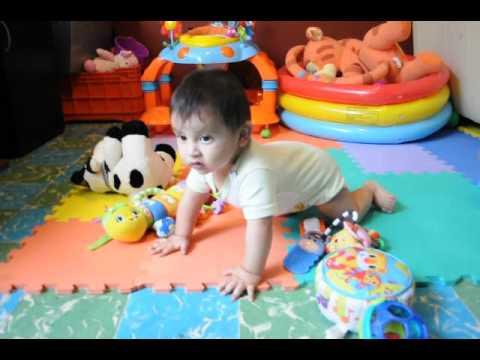 Mi bebe de 8 meses aprendiendo a gatear youtube - Quitar mocos bebe 9 meses ...