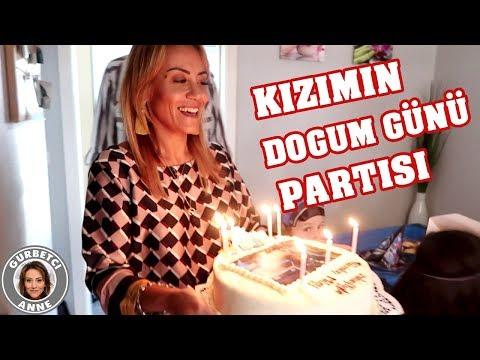 KIZIMIN DOGUM GÜNÜ Partisi  ve DEKOR -...