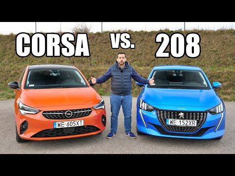 Opel Corsa versus Peugeot 208 – Fraternal Twins (ENG) Comparison, Test Drive, Review