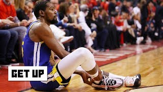 KD's Achilles injury won't stop him from signing a max deal in free agency – Bobby Marks | Get Up