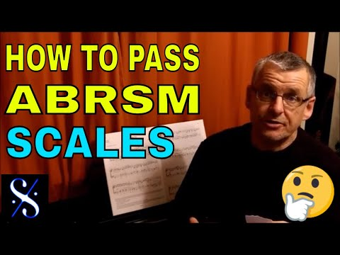 How to pass an ABRSM exam  Scales