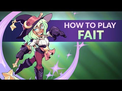 How to Play Fait! - Brawlhalla Dev Stream Montage