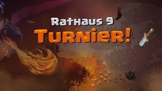 Clash of Clans | Rathaus 9 Turnier! | Reazor [Deutsch/German|HD]