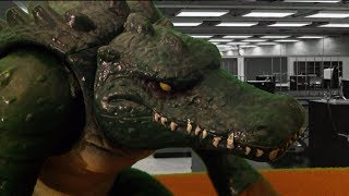 TMNT 2013 Stop Motion S02E02-Leatherhead (WITH VOICE ACTING!)