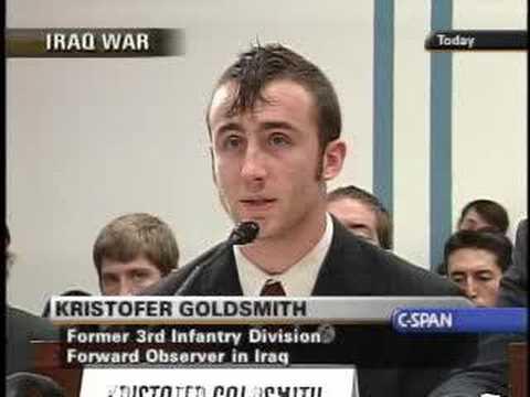 Congressional Progressive Caucus Winter Soldier Forum Part 3