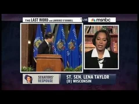 O'Donnell: WI Dem. State Sen. Lena Taylor discusses Gov. Walker's face-saving attempt