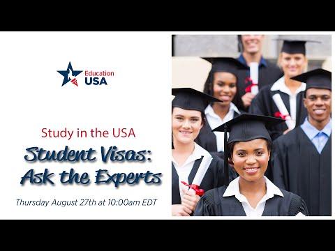EducationUSA Interactive:  Student Visas & Documentation: Ask the Experts