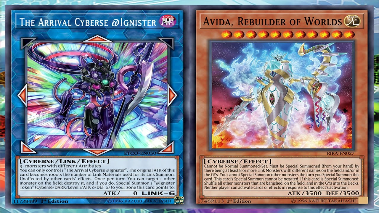 The Arrival Cyberse Ignister Deck Cyberse Ygoprodeck