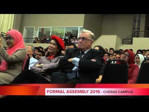 Cempaka International School Cheras Formal Assembly 2016 and University of Adelaide Workshop