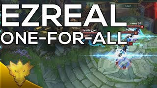 Playing against Ezreal in One-For-All... - League of Legends