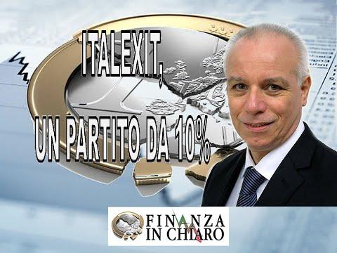 ITALEXIT, UN PARTITO DA 10%