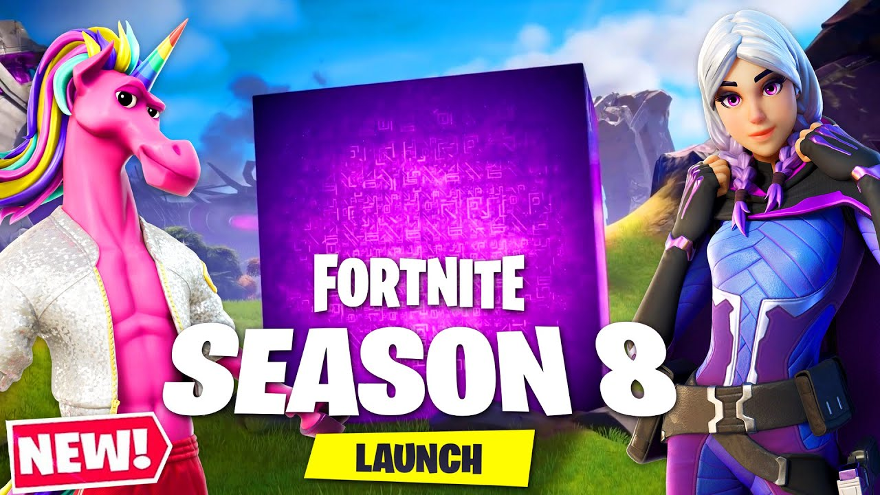 Download *NEW* SEASON 8 is HERE! (Fortnite Battlepass Skins, Map Changes + MORE)
