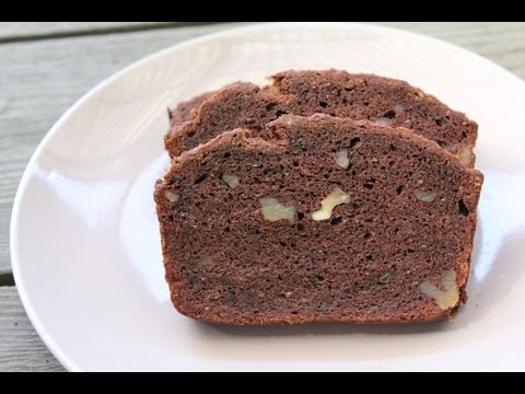 Vegan Gluten-Free Chocolate Banana Bread Recipe