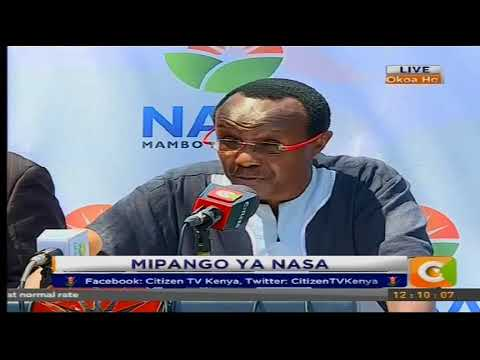 David Ndii : NASA is not interested in boardroom deals and swearing plan is on course