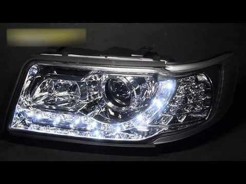 Тюнинг фары для Ауди 100 С4 | Tuning headlights for Audi 100 C4