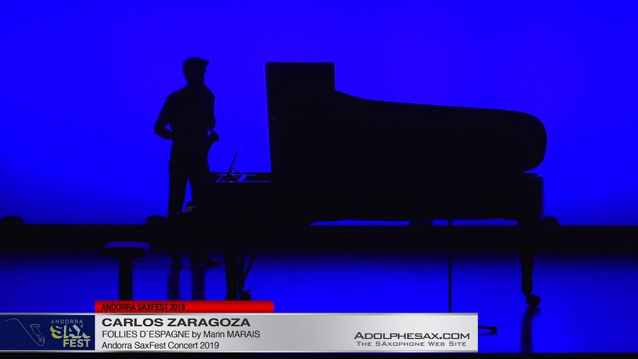 Andorra Saxfest 2019   Carlos Zaragoza   Folies d´Espagne 1 by Marin Marais