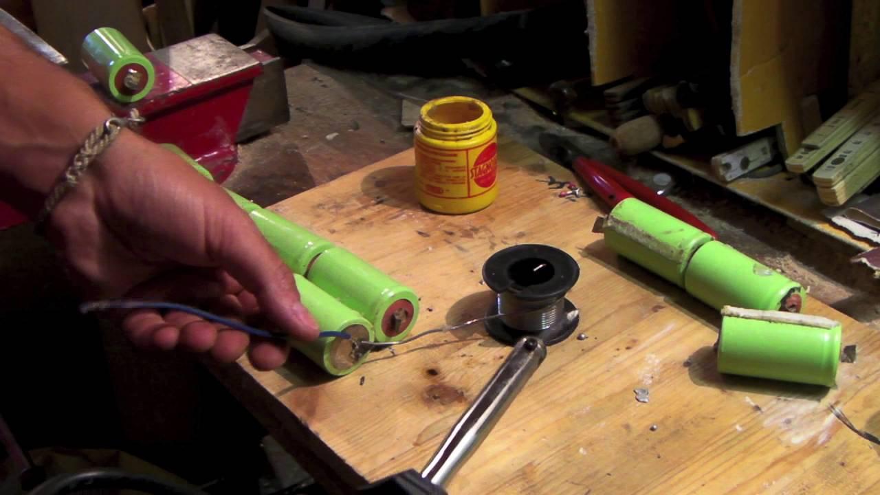 Come costruire un pacco batteria per bici elettrica youtube - Batteria per casa ...