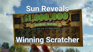 Sun Reveals Winning Scratcher! App Re-Scratch! T-Shirt Giveaway