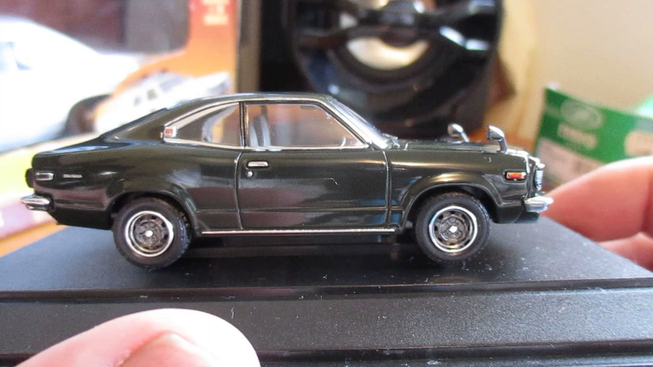 1 43 Scale 1973 Mazda Rx3 Savanna Coupe By Ebbro Diecast Model Car