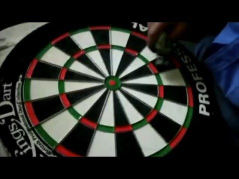 "Video: Kings Dart Dartscheibe ""Professional"""