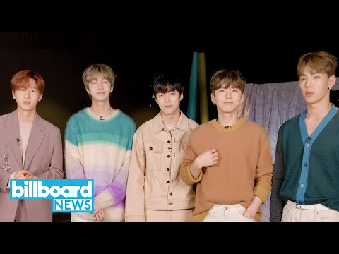Monsta X Talk English Album 'All About Luv', Working With Pitbull & U.S. Tour | Billboard News