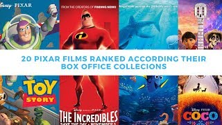 ALL PIXAR FILMS RANKED ACCORDING THEIR  WORLDWIDE BOX OFFICE COLLECTIONS | TOY STORY TO TOY STORY 4