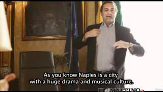 Ciao Al, De Magistris invita l'attore thumbnail