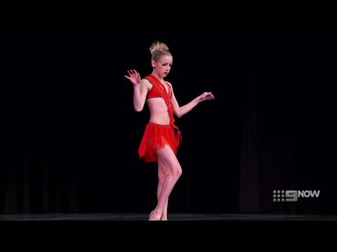 Dance Moms - Maddie Cries When Her Number is Called + Chloe's Solo 'Keep Em Burning' (S2 E14)