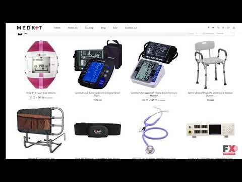 Medical Equipment Responsive Shopify Theme TMT | Free Template  Sly S